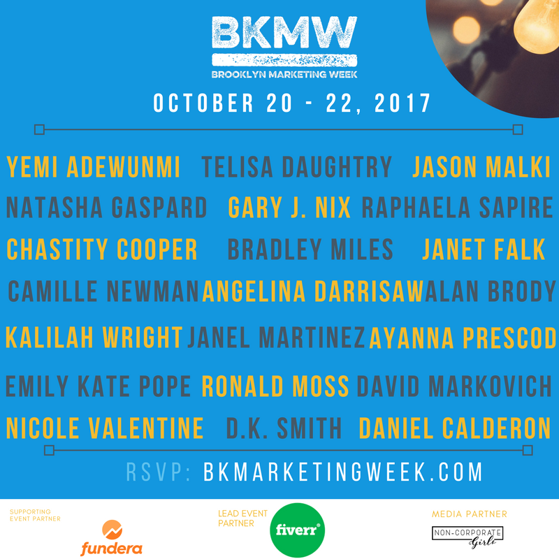 Brooklyn Marketing Week Speakers