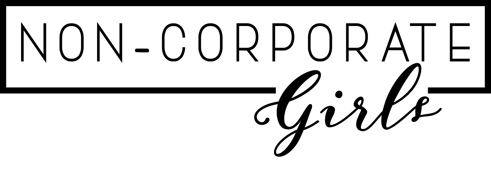 Non Corporate Girls Logo