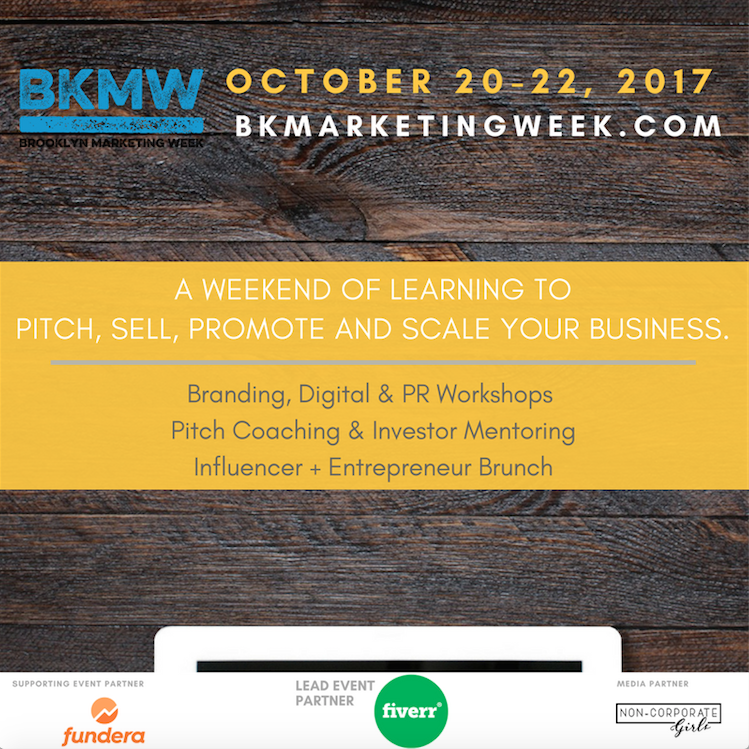 Brooklyn Marketing Week Flyer
