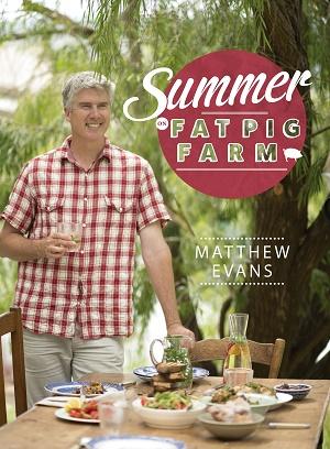 Cover Art for Matthew Evans' Fat Pig Farm