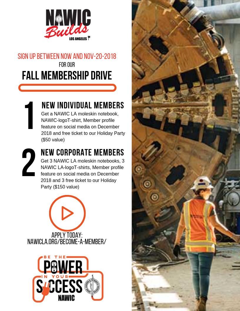 NAWIC LA Fall Membership Drive