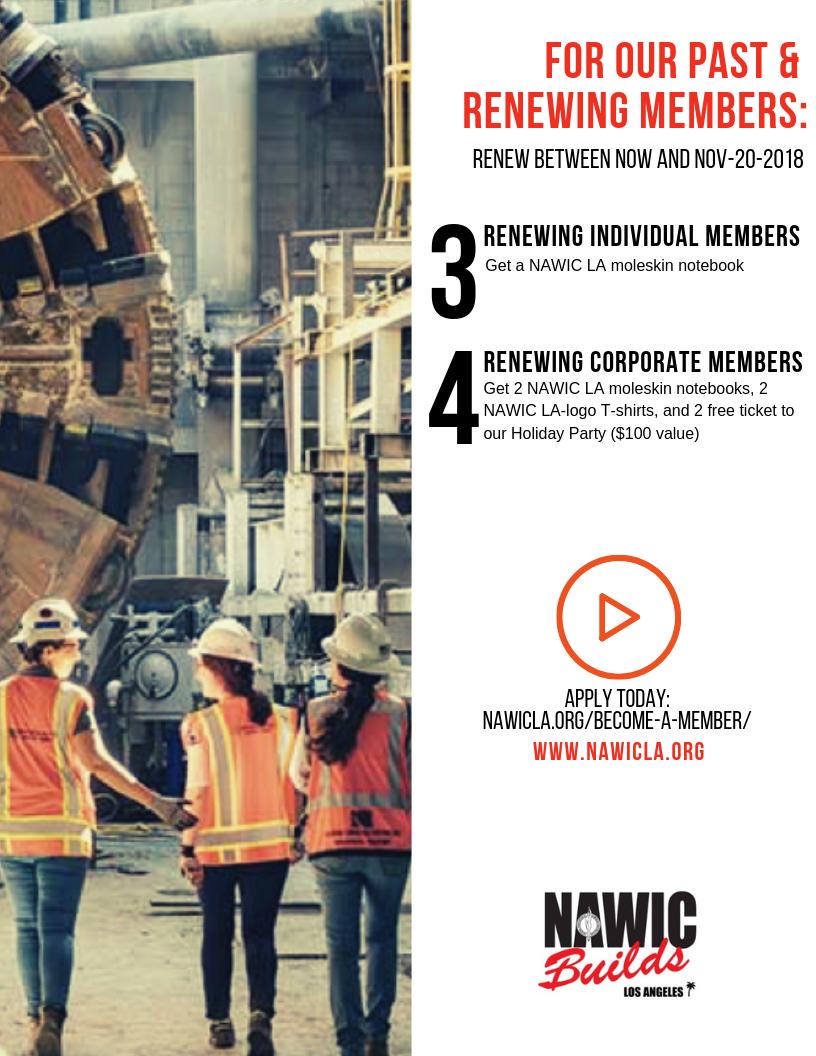 NAWIC LA Fall Membership Drive_Renewing