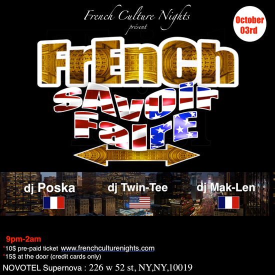 French Culture Nights & French Savoir Faire