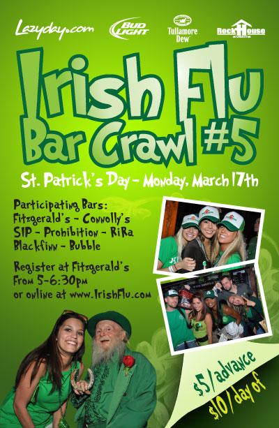 Irish Flu Bar Crawl