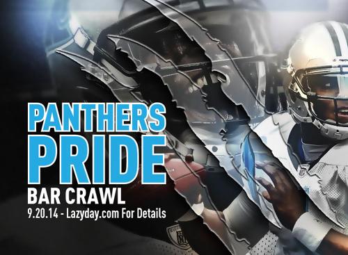 Panthers Pride Bar Crawl