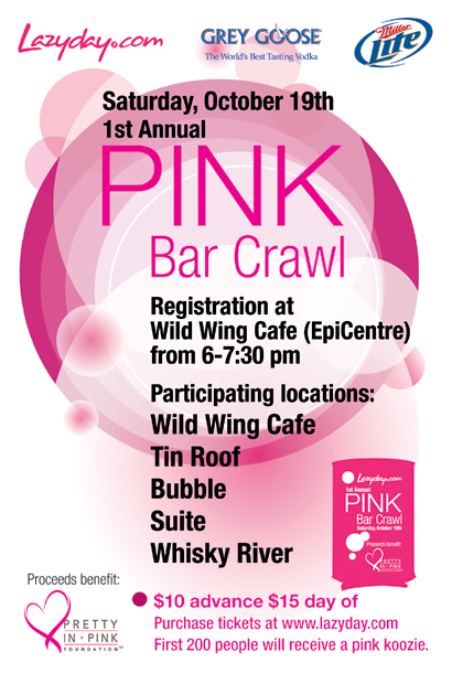 Pink Bar Crawl
