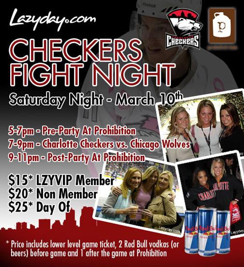 Checkers Fight Night