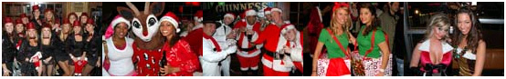 Santa Bar Crawl