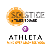 Solstice in Times Square: Athleta Mind Over Madness Yoga 2013