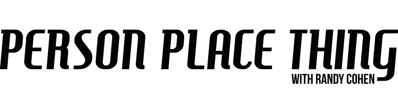 Person Place Thing Horizontal Logo
