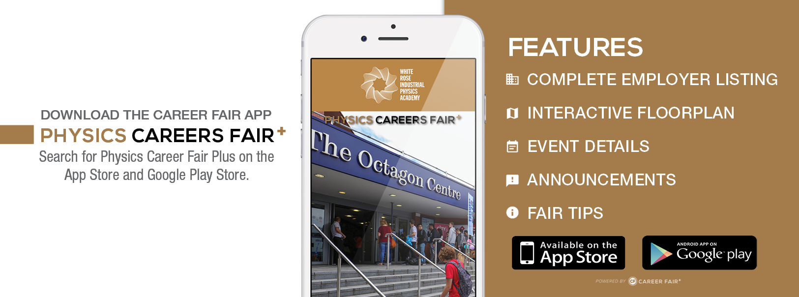 Careers fair App information