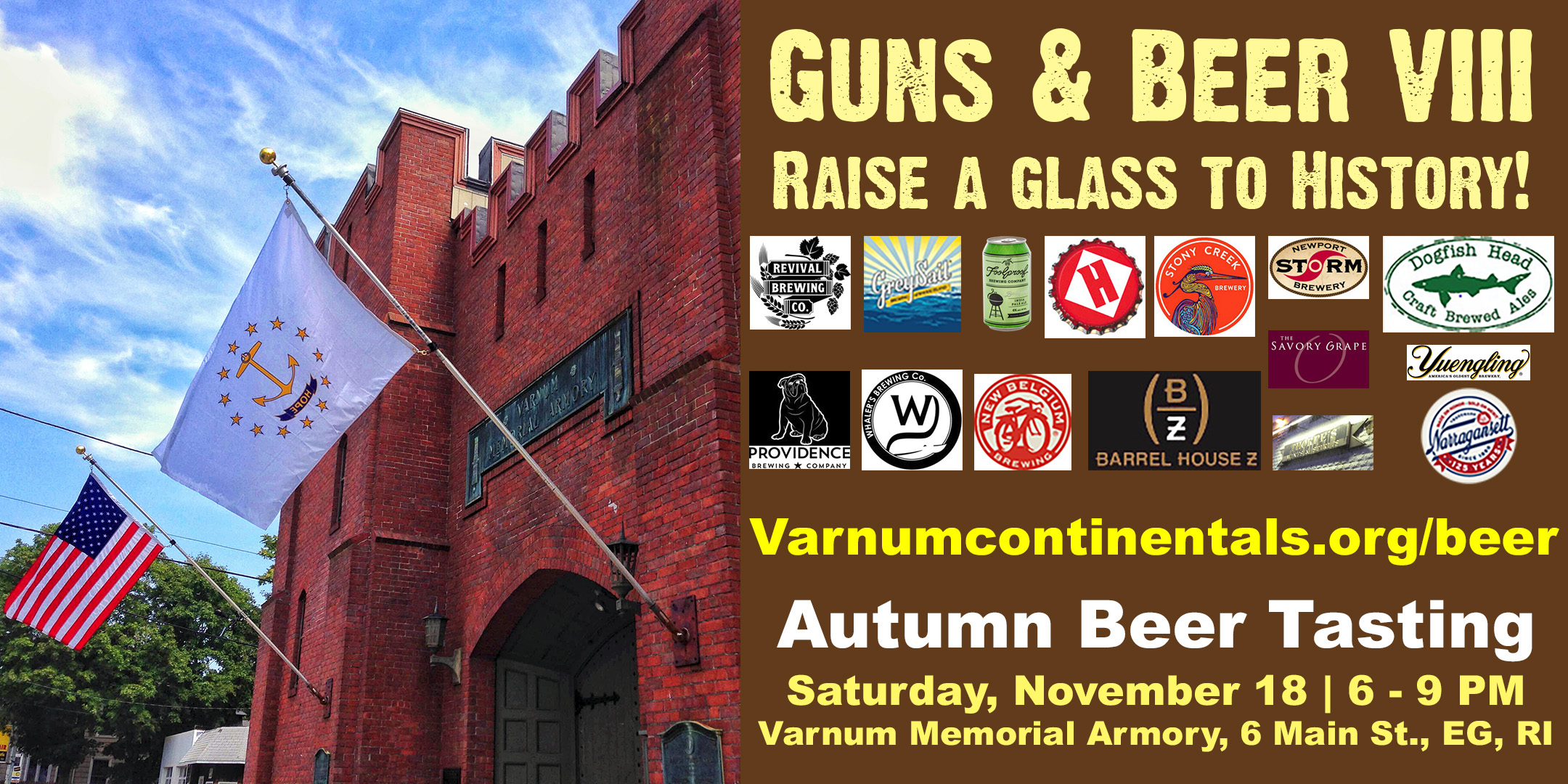 Guns & Beer VIII: Raise a Glass to History