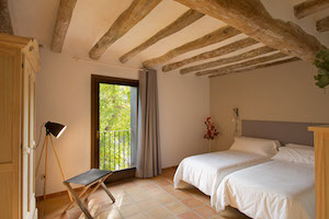 One of the Bedrooms at Can Morei