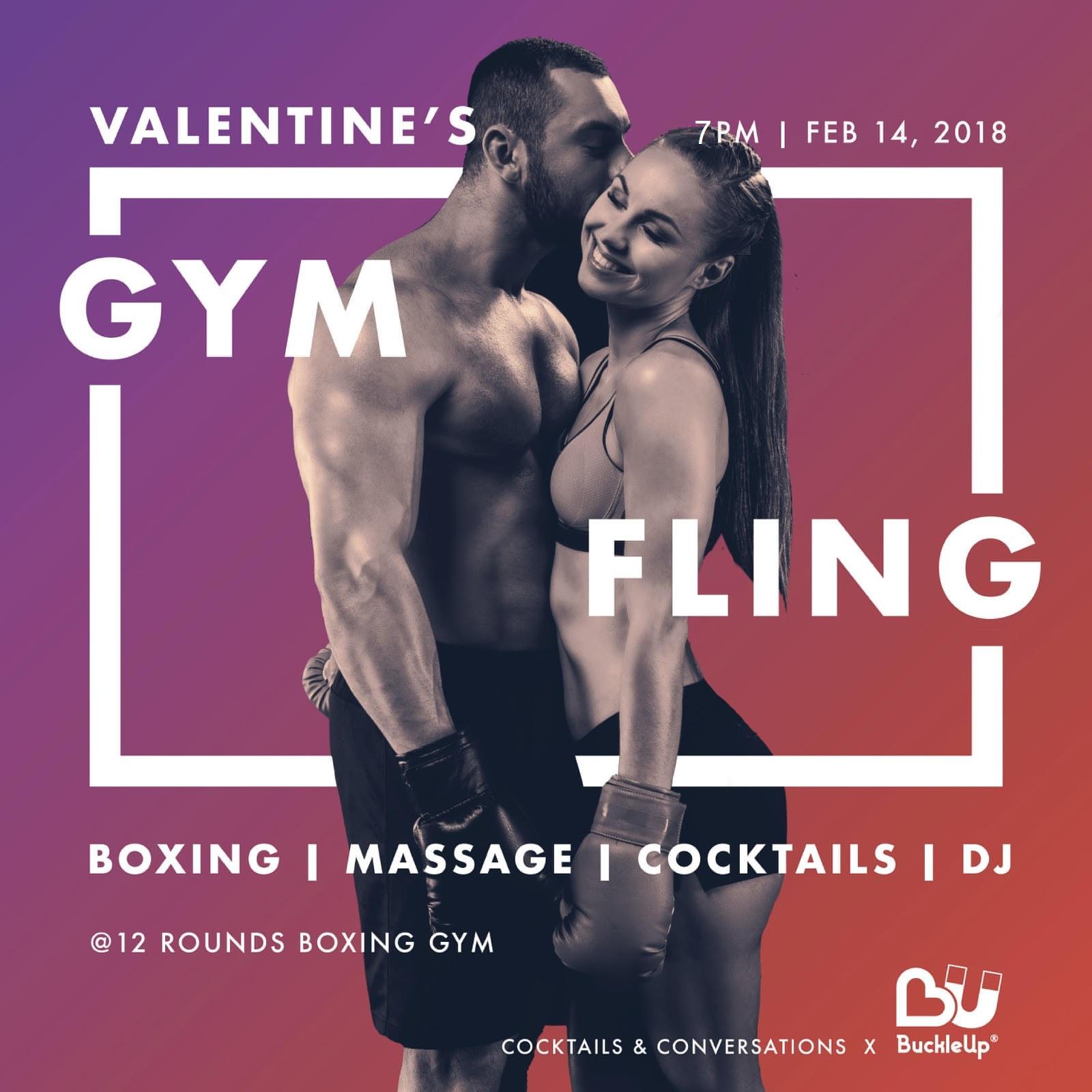 Gym Fling Poster