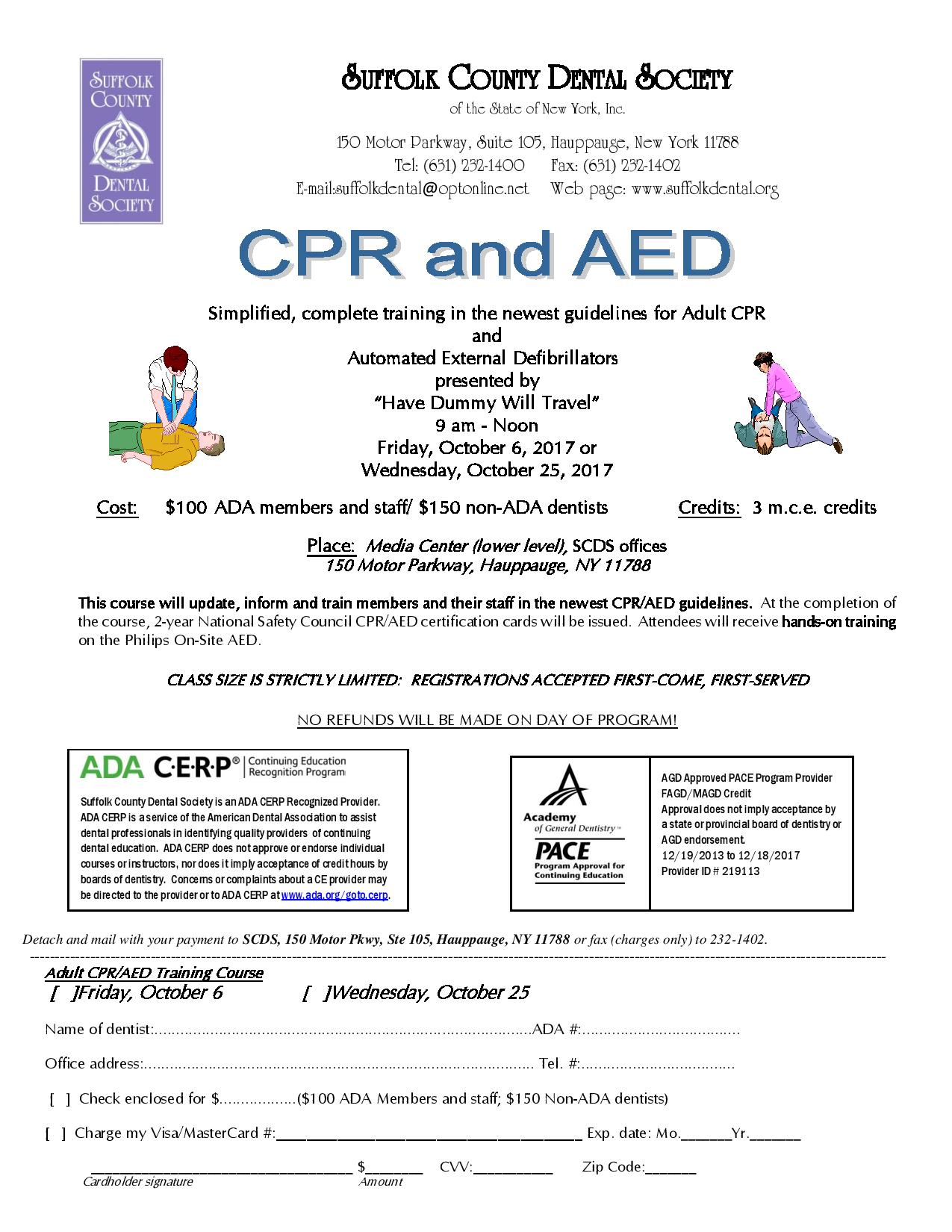 Cpr aed training wednesday october 25 2017 tickets wed oct description xflitez Gallery