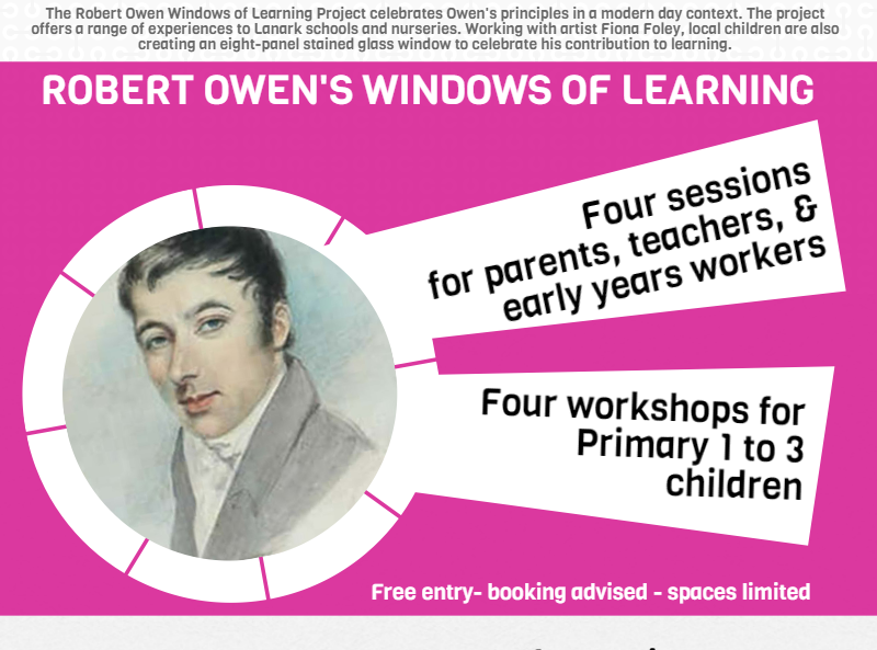 Robert Owen Windows of Learning Banner