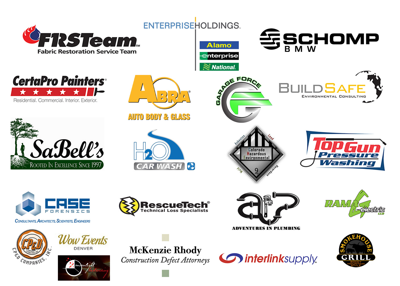 6th Annual Formula 1 Challenge Event Sponsors!
