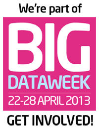 We're part of Big Data Week