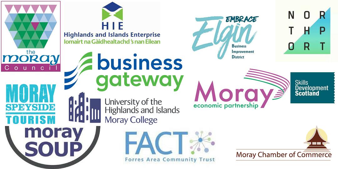 Moray Business Week Partner Logos