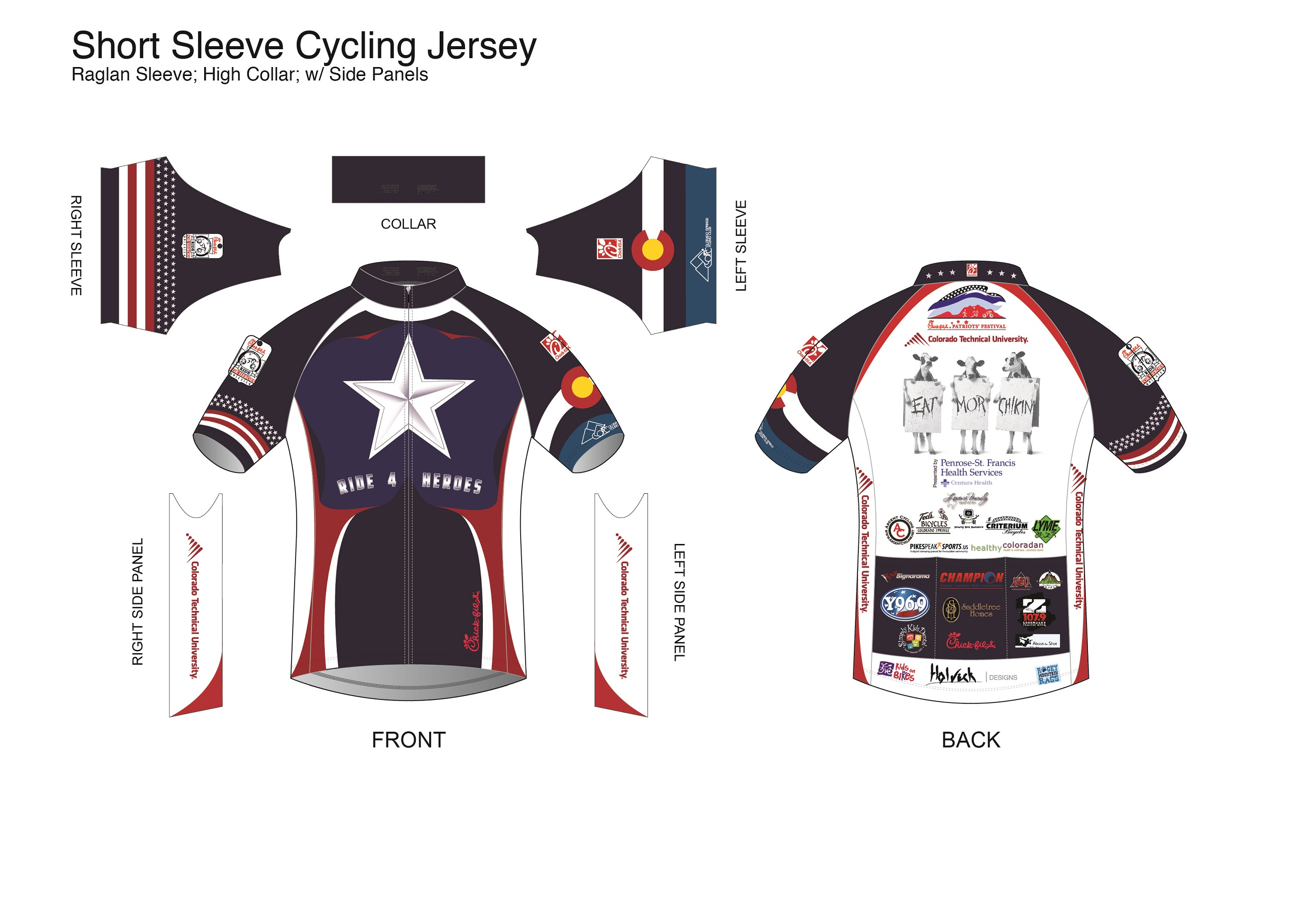 2014 Ride for Heroes Jersey