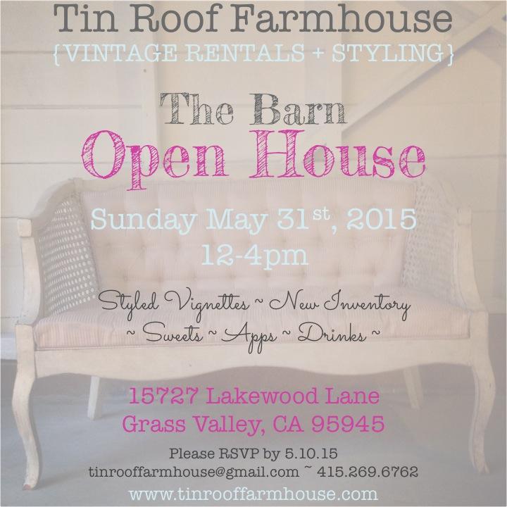 Tin Roof Farmhouse Vintage Rentals
