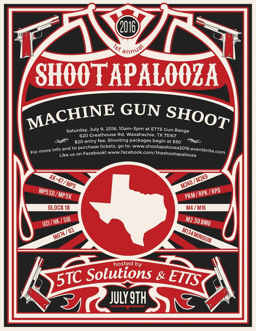 machine gun events