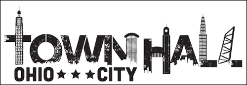 Townhall restaurant logo