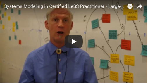 Systems Modeling in Certified LeSS Practitioner - Large-Scale Scrum