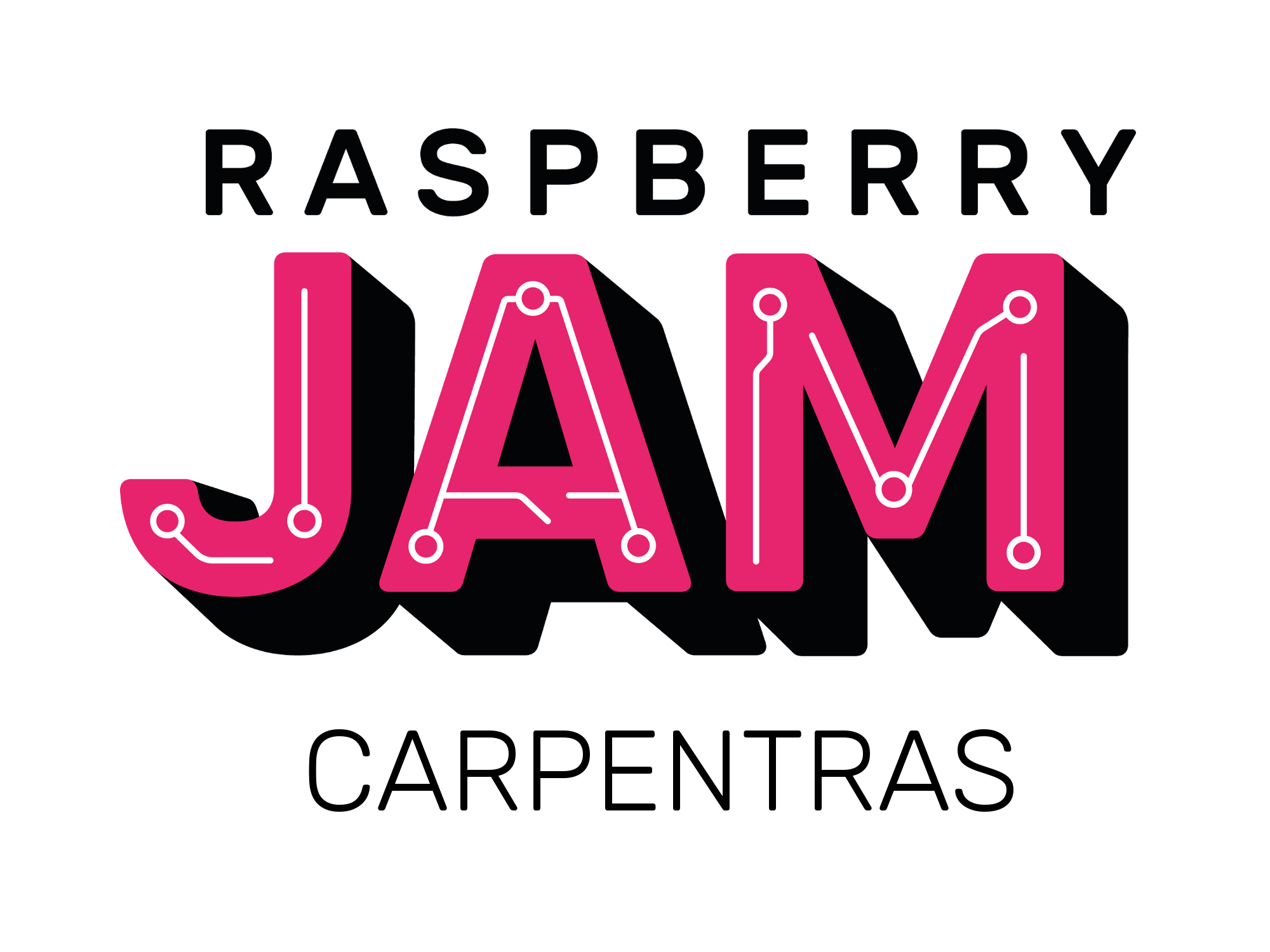 Raspberry Jam Carpentras Logo