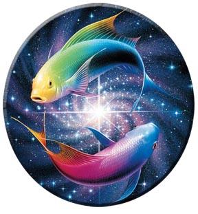 Beautiful Pisces fish