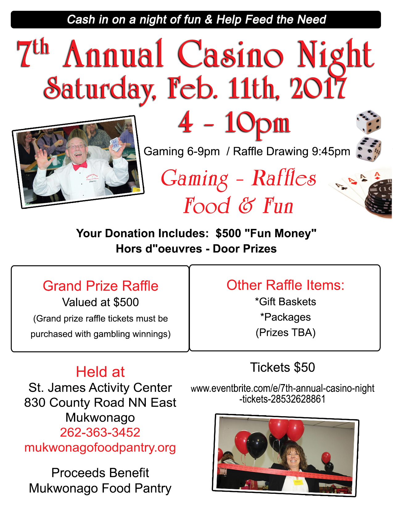 7th Annual Casino Night