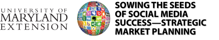 UME logo and Sowing the Seeds of Social Media logo