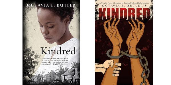 kindred by octavia butler Octavia e butler's bestselling literary science-fiction masterpiece, kindred, now in graphic novel format more than 35 years after its release, kindred continues to draw in new readers with its deep exploration of the violence and loss of humanity caused by slavery in the united states, and its complex and lasting impact on the present day adapted by celebrated academics and comics.