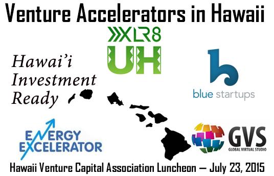 Venture Accelerators in Hawaii