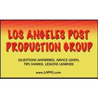 July 13th Los Angeles Post Production Group Meeting - How...