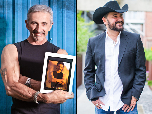 Aaron Tippin and Ray Scott