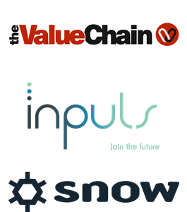 Logos TheValueChain, Inpuls and Snow
