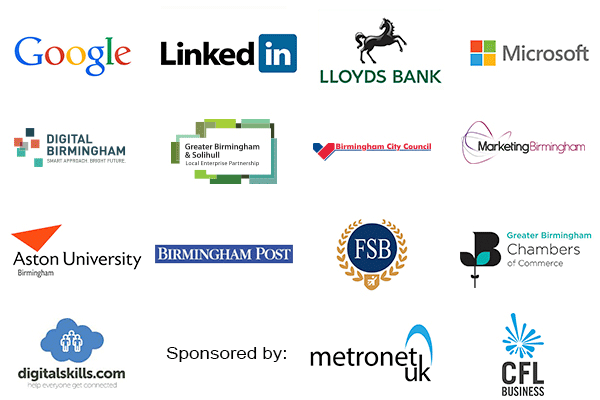 Supporters of the Greater Birmingham Digital Summit