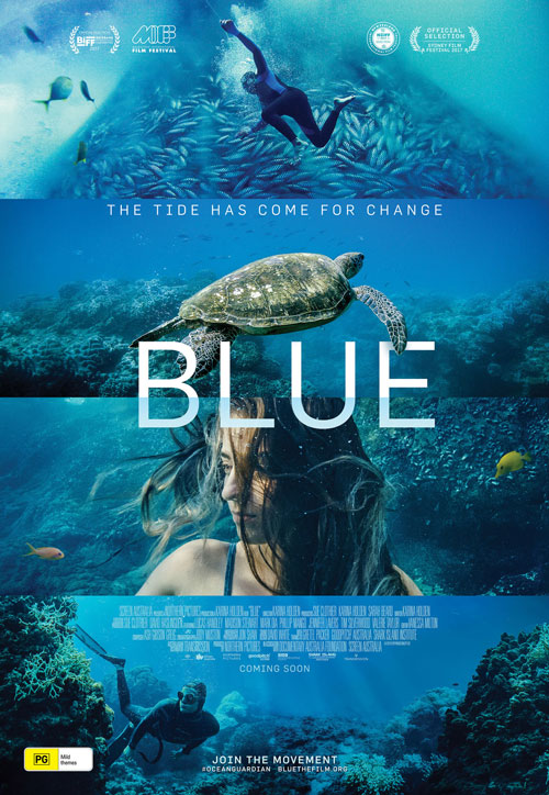 documentary Blue DVD cover