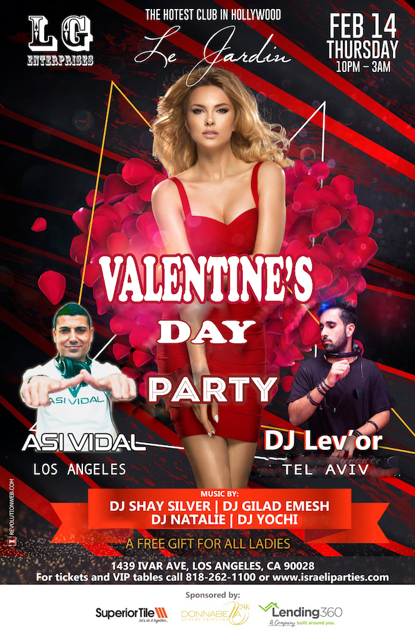 Asi Vidal Valentines day party