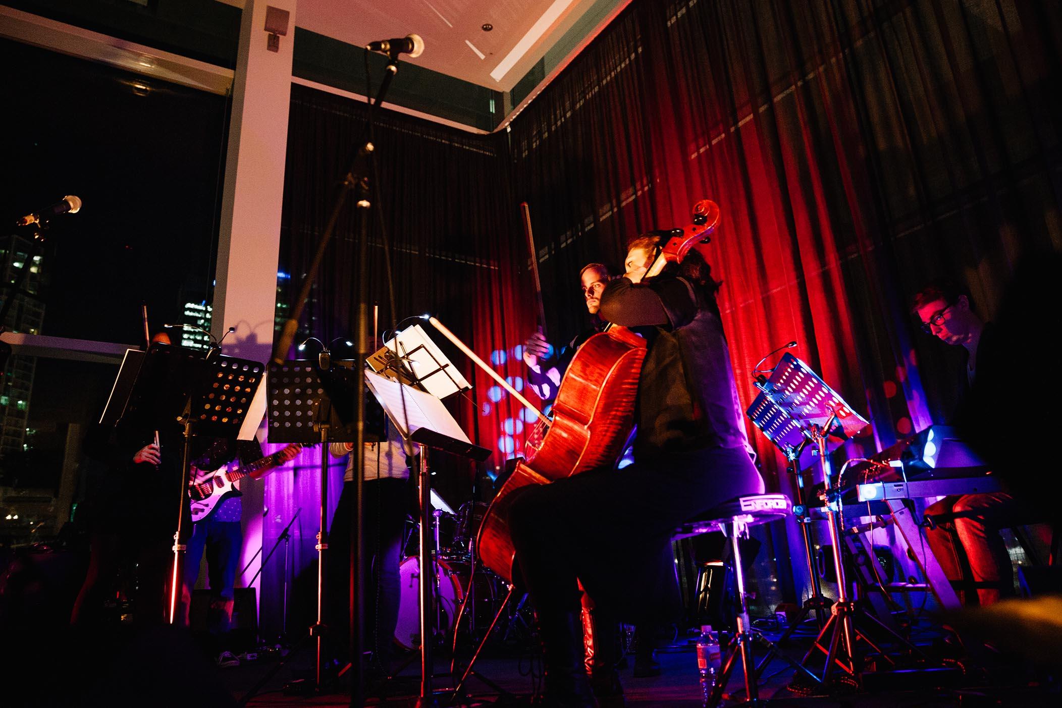 Nonsemble perform at GOMA, 2015 / Photograph: Joe Ruckli