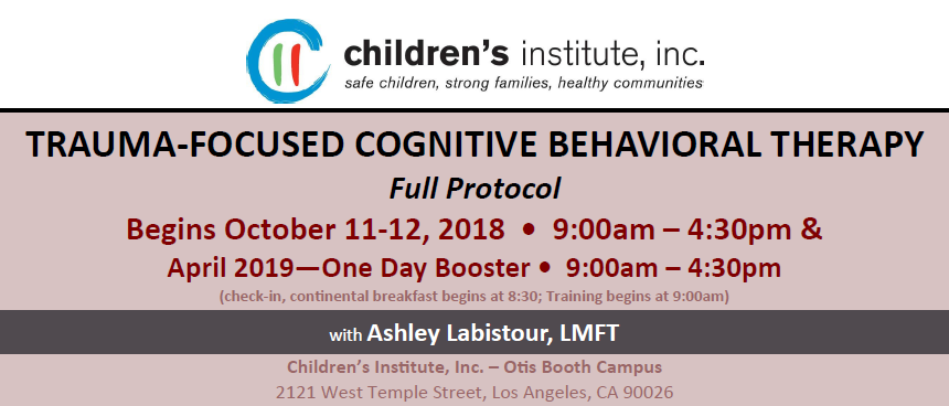 trauma focused cognitive behavioral therapy an effective Trauma-focused cognitive behavioral therapy (tf-cbt) is an evidence-based treatment for children and adolescents impacted by trauma and their parents or caregivers research shows that tf-cbt successfully resolves a broad array of emotional and behavioral difficulties associated with single, multiple and complex trauma experiences.