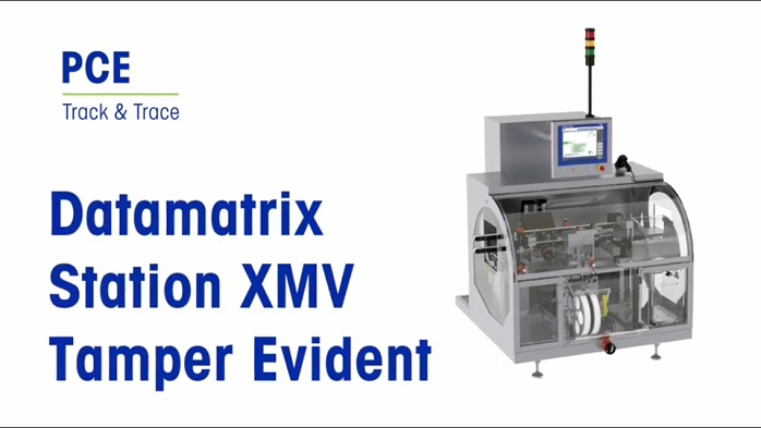 XMV-TE Serialisation EU-FMD Mettler Toledo PCE