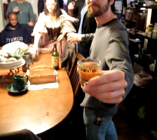 Elevenses Shot of whisky