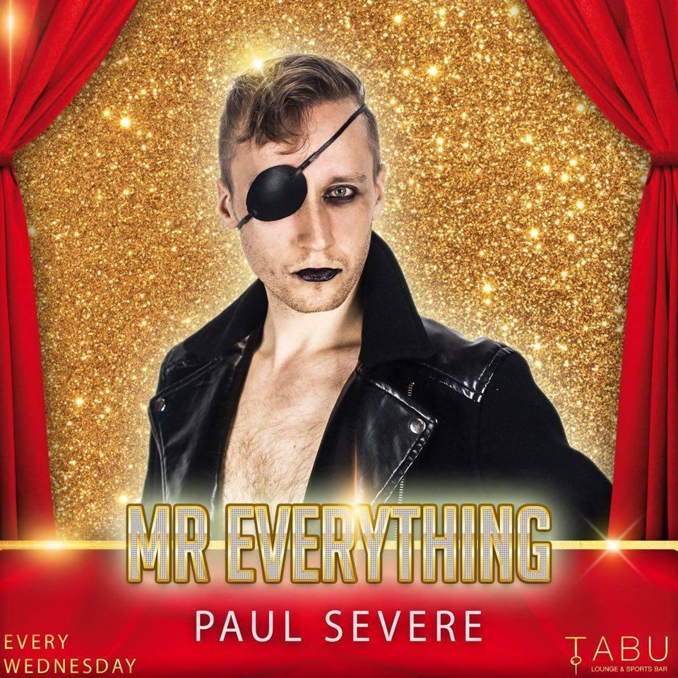 Paul Severe to MC the Villain's Ball