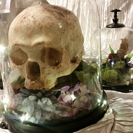 Skull Dessert for the Villain's Ball VIP High Protocol Dinner