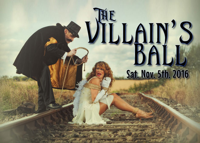 The Villain's Ball Logo - Costumed Play Party
