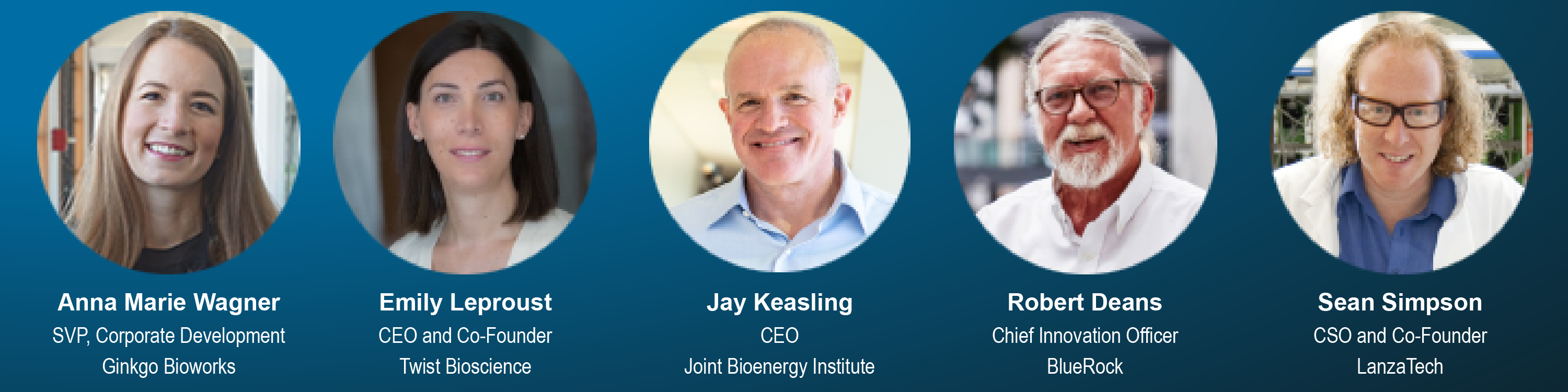 Featured Speakers for Canada SynBio 2020