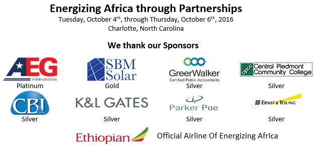 Energizing Africa Sponsor Banner