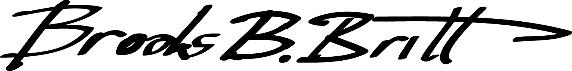 Brooks Britt Signature